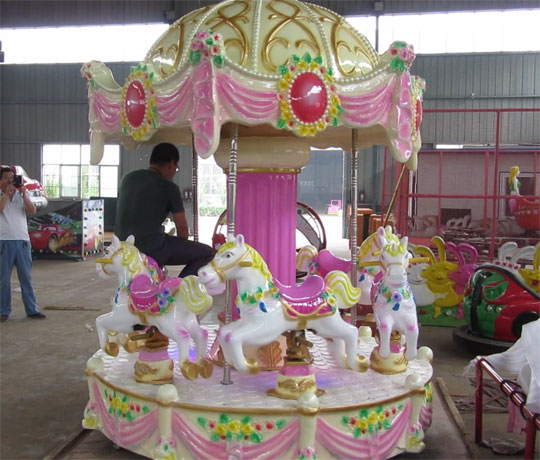 carousel amusement ride