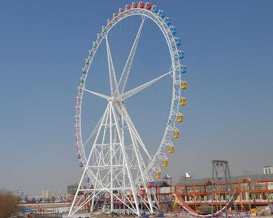 giant ferris wheel in Beston group - ferris wheel manufacturers china