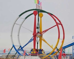 Thrill Amusement Park Rides Equipment Ferris Wheel Car