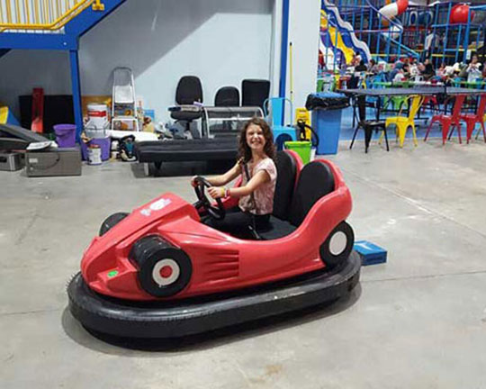 indoor battery operated bumper cars