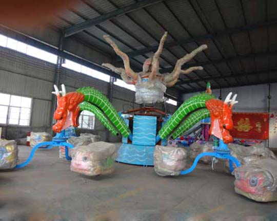 different types of rotary octopus rides to buy in Beston amusement equipment