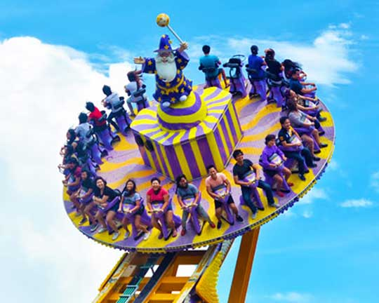 Quality amusement park rides Disco rides for sale