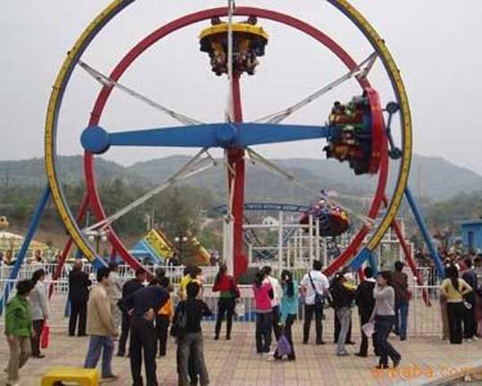 Entertainment popular ferris ring car thrilling rides for sale