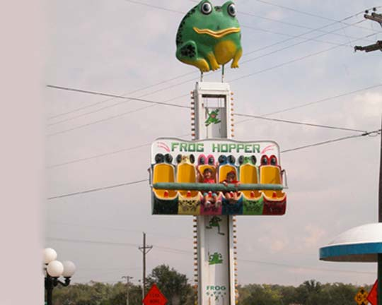 Frog Hopper Ride for sale