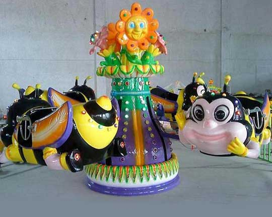 Best Selling Kiddie Bees Rides in Beston Group