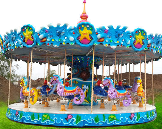 double decker carousel for sale