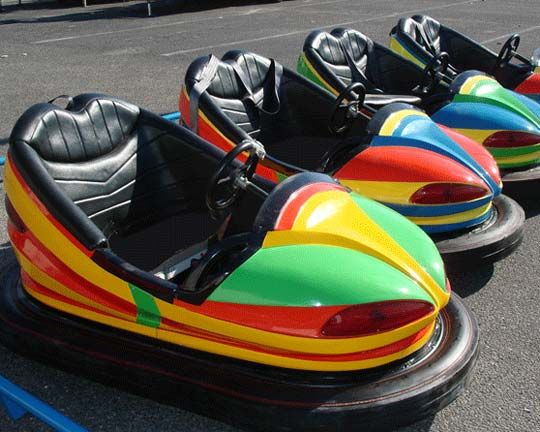 Ceiling Grid Dodgem Bumper Cars for Sale