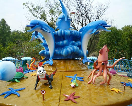fight shark island theme park attractions for sale