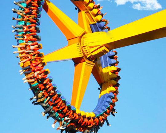 frisbee fairground ride supplier in China - Beston