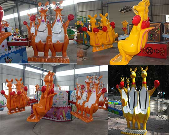professional Kang'a'bounce ride supplier