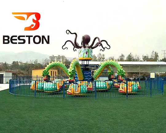 rotary octopus carnival rides manufacturer