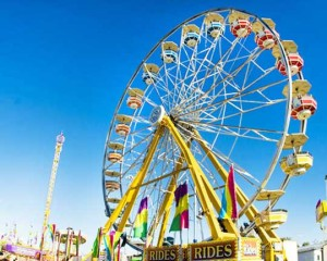 a ferris wheel is built such that the height