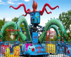 best rotary octopus ride supplier