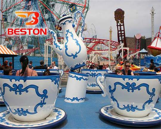 spinning coffee cup rides supplier