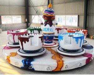 spinning teacup ride supplier
