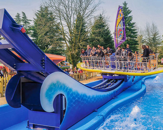 top surf's up fair ride manufacturers