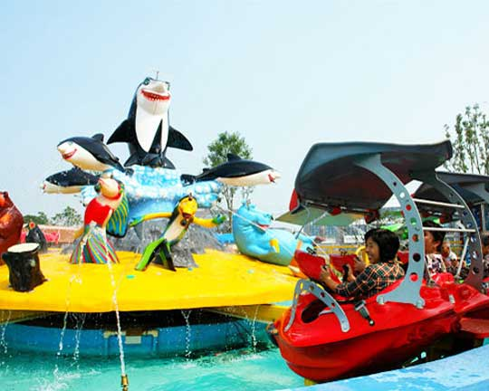 Fight Shark Island amusement Rides cost