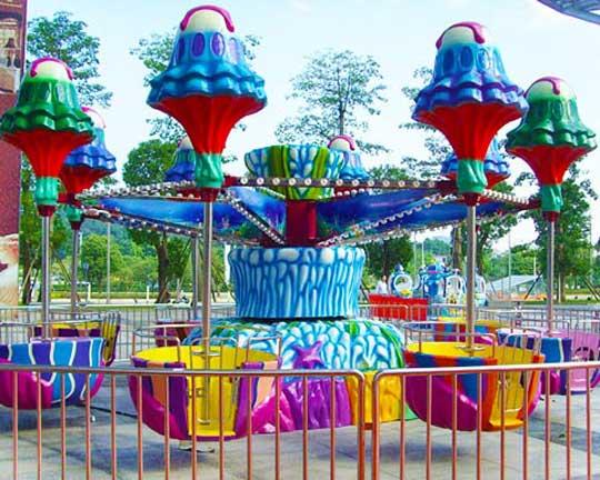 top jellyfish fairground rides manufacturer in China