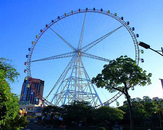 110m giant carnival wheels for sale
