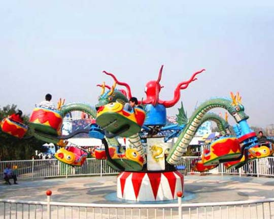 purchase quality rotary octopus amusement rides from Beston company at reasonable prices