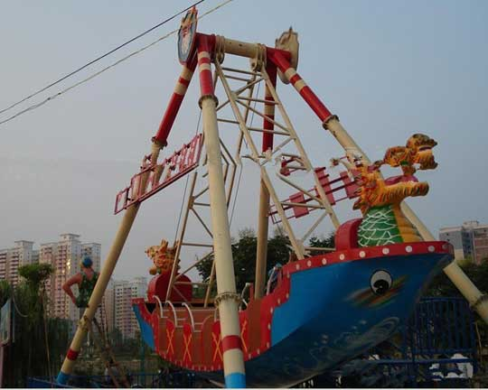 pirate ship amusement park ride manufacturer