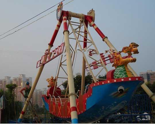pirate ship amusement park ride manufacturer