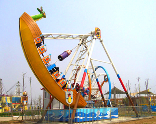 pirate ship carnival ride