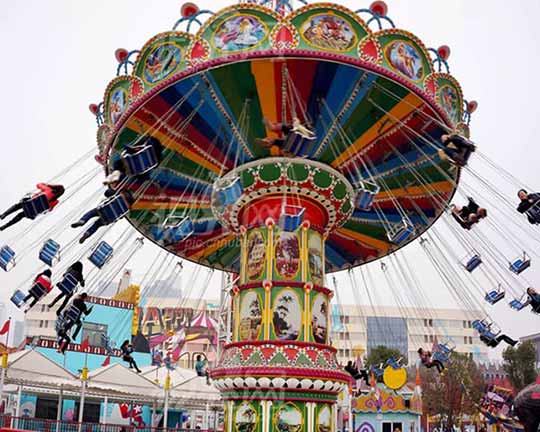 carnival rides swing flying chairs for sale