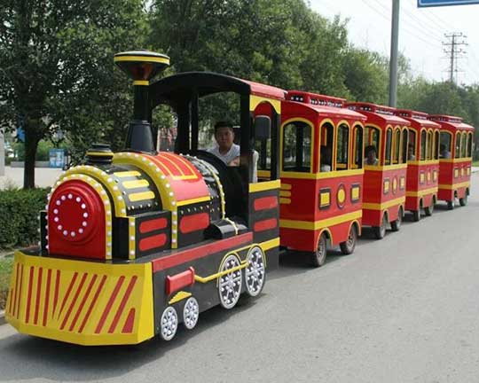 quality trackless trains rides in Beston the top amusement train supplier