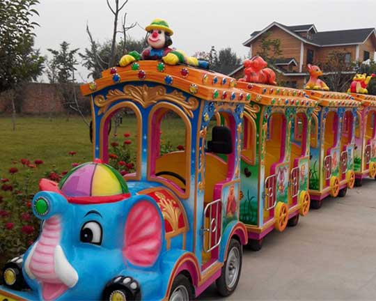 electric trackless train for sale