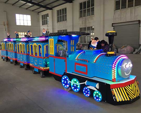 best selling electric fiberglass trackless trains for sale