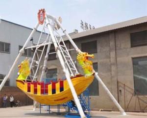 best mini pirate ship ride supplier