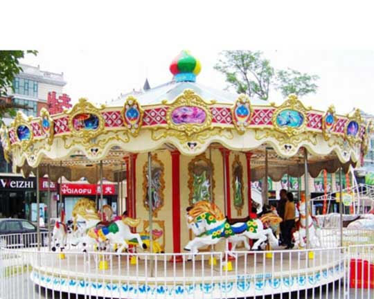 carousel and merry go round