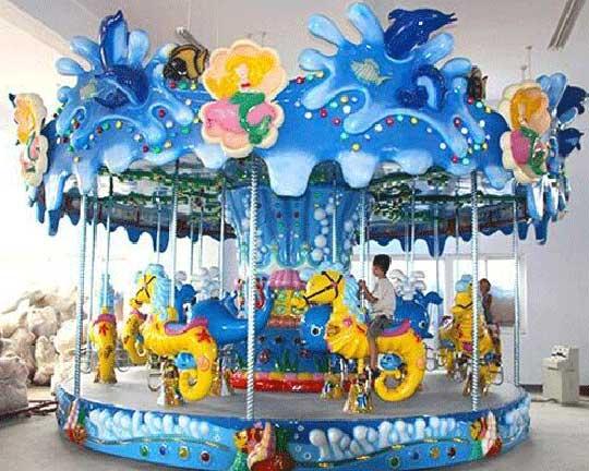 fiberglass carousel horses for sale