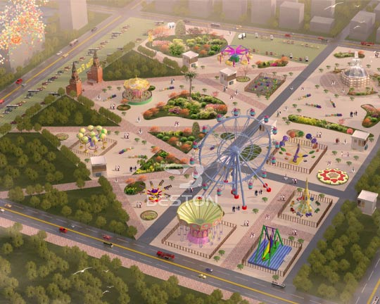 indoor amusement parks design