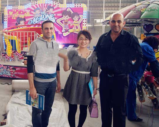 Pakistani Customers Purchase Several Sets of Amusement Equipment from Beston Group
