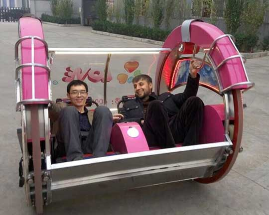Tajikistan Customer Buy Le Bar Cars from Beston Amusement