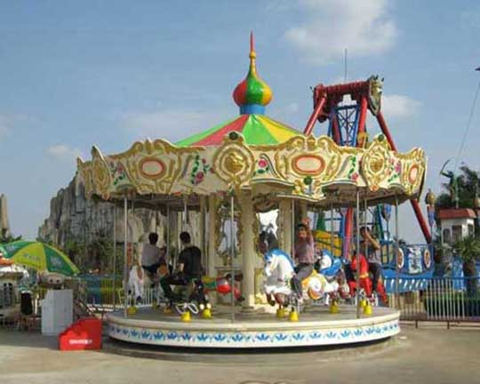 amusement park carousel for sale