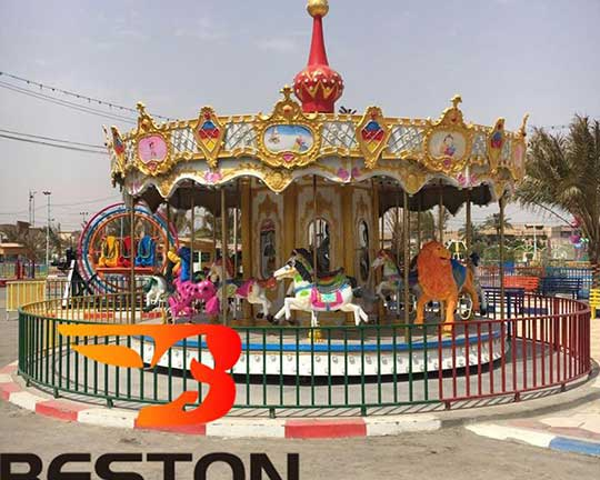 Congratulations on the New Park in Iraq Built by Beston Group