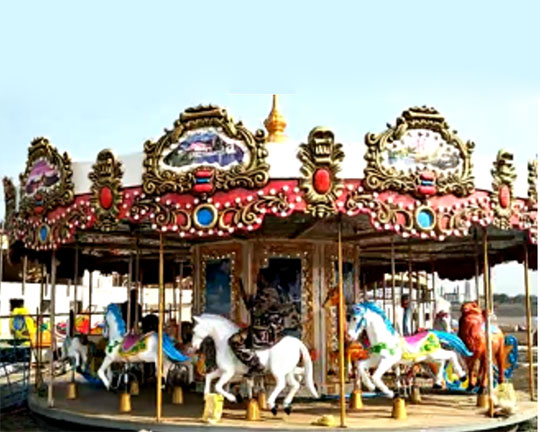 amusement park carousel manufacturers