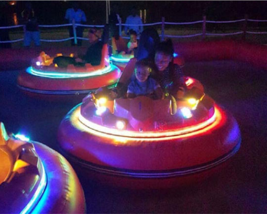 inflatable battery operated bumper cars for sale