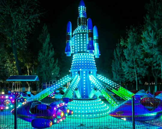 different types of theme park rides