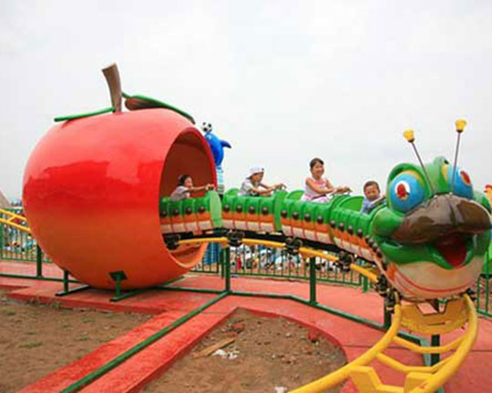 apple worm roller coaster for sale