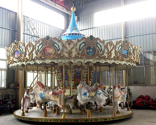 funfair amusement ride carousel for sale