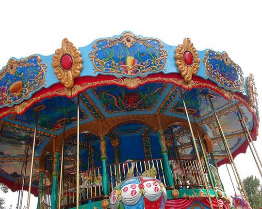 double decker carousel ride manufacturers