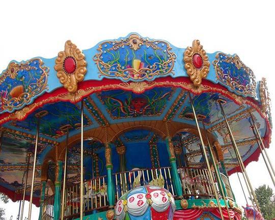 double decker carousel ride manufacturers