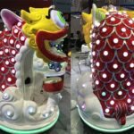 Lucky Lion Kids Amusement Rides for Sale
