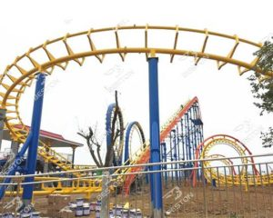 quality 4 loops roller coasters - hot thrill rides for sale