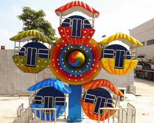 small amusement park ferris wheel equipment factory for kids