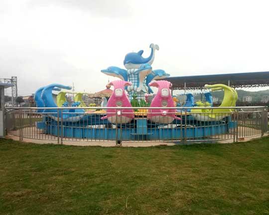 fight shark island children's fairground rides for sale